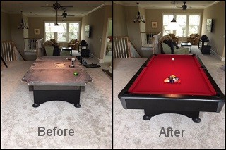 expert pool table recovering in Chillicothe content img3